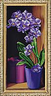 """P-235 Набор для вышивания бисером """"Орхидея"""""""