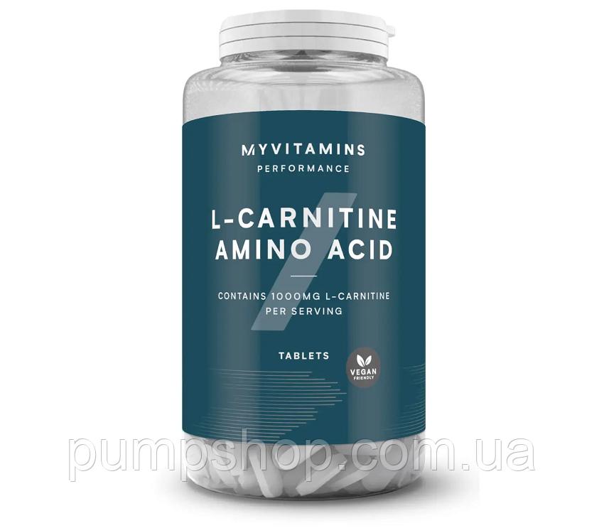 Л-карнітин Myprotein L-carnitine 500 мг 180 таб.