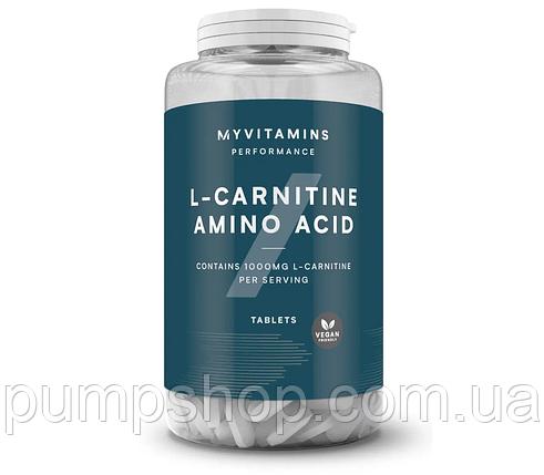Л-карнітин Myprotein L-carnitine 500 мг 180 таб., фото 2