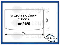 Стекло погрузчик Fiat Kobelco New Holland E-SR SK-SR SRL -Нижняя передняя