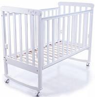 Детская кроватка Верес Соня ЛД 12 (белый)