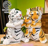 Плед-игрушка Тигр с тигренком