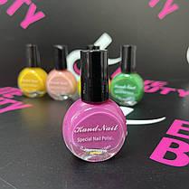 Лак-фарба для стемпинга Kand Nail, 10 мл (різні кольори), фото 2