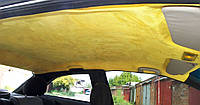 Самоклеющаяся алькантара желтая Корея 90*144 см