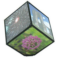 Вращающаяся фоторамка «Волшебный куб»