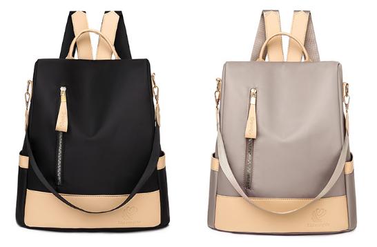 Рюкзак-сумка жіночий нейлон Zhimingdu