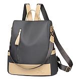 Рюкзак-сумка жіночий нейлон Zhimingdu, фото 3