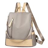 Рюкзак-сумка жіночий нейлон Zhimingdu, фото 4