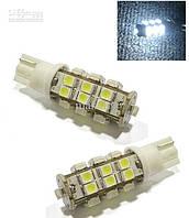 Светодиодная лампочка t10 25 smd 3528