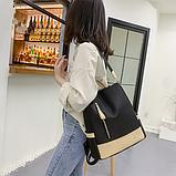 Рюкзак-сумка жіночий нейлон Zhimingdu, фото 6
