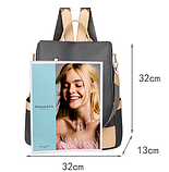 Рюкзак-сумка жіночий нейлон Zhimingdu, фото 8