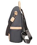 Рюкзак-сумка жіночий нейлон Zhimingdu, фото 9