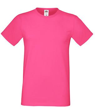 Мужская футболка малиновая приталенная 412-57