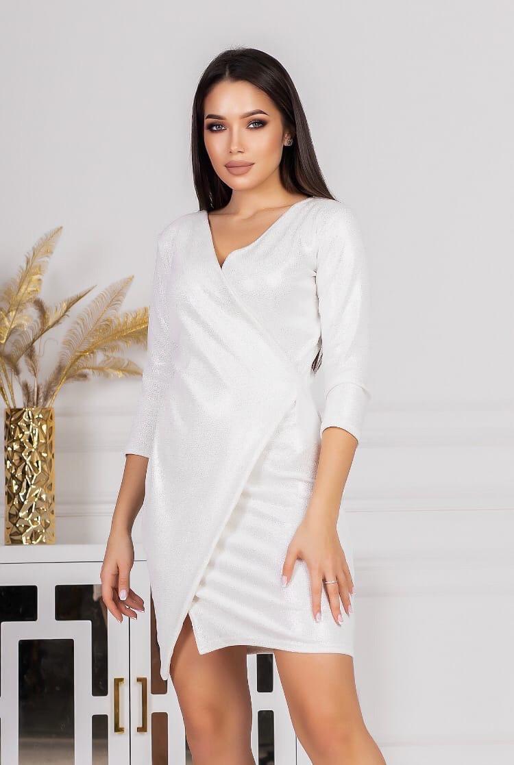 Платье с запахом рр 42-44 цвет в ассортименте