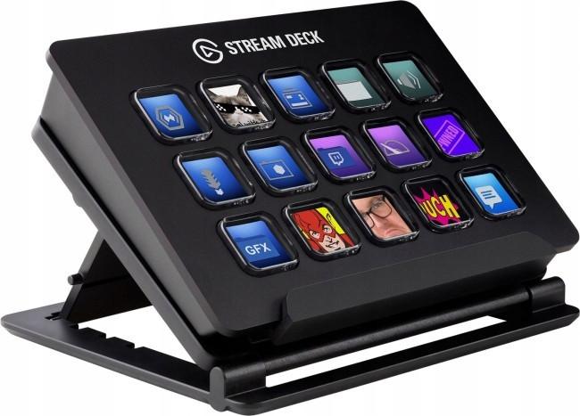 Контроллер для стриминга Elgato Stream Deck Black (10GAA9901)