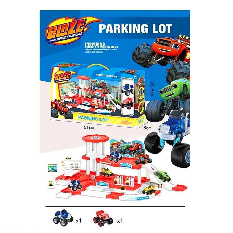 """Іграшковий паркінг 553-394A """"ВСПИШ"""" два поверхи"""