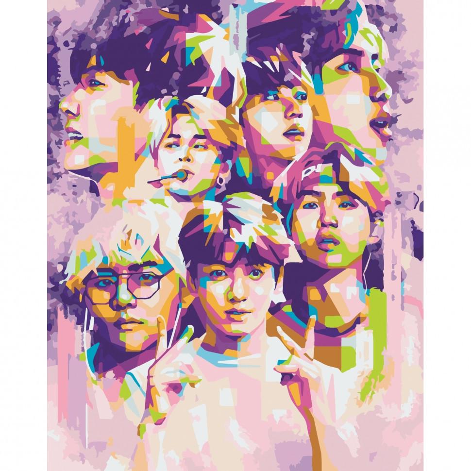 "Картина за номерами ""BTS. Bangtan Boys"" Art Craft 10273-AC 40х50 см"