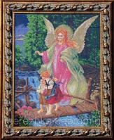 Схема для вышивки бисером иконы Ангел Хранитель