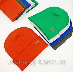 Дитячий трикотажний подвійний набір з нашивкою р52-54 код 5096 Glory-kids
