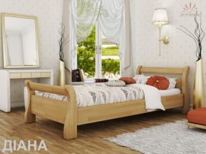Кровать из дерева Диана ( из массива )