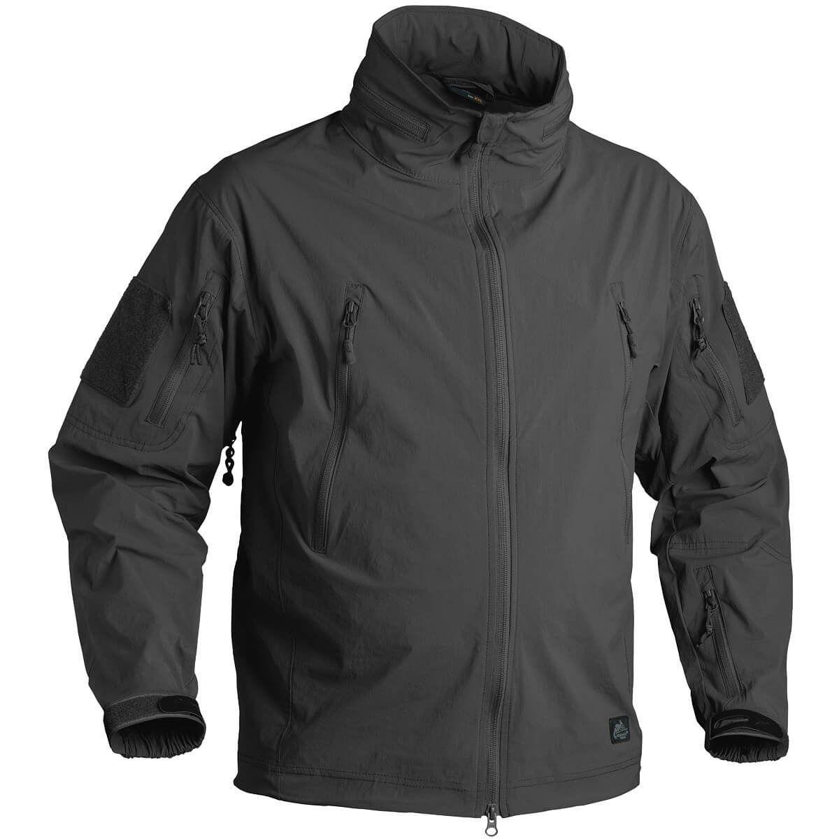 Куртка Helikon Trooper Soft Shell Jacket Black (разные размеры), куртка софт шелл, ветровка (KU-TRP-NL-01) 50