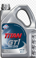 Синтетическое моторное масло TITAN (титан) GT1 PRO FLEX SAE 5W-30 4л.