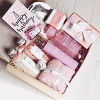 Нежный косметический подарочный набор Bath&Body Works для девушки / женщины