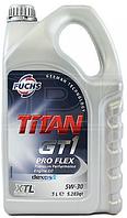 Синтетическое моторное масло TITAN (титан) GT1 PRO FLEX SAE 5W-30 5л.