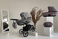 Дитяча універсальна коляска 2 в 1 Adamex Olivia BR-260, фото 4