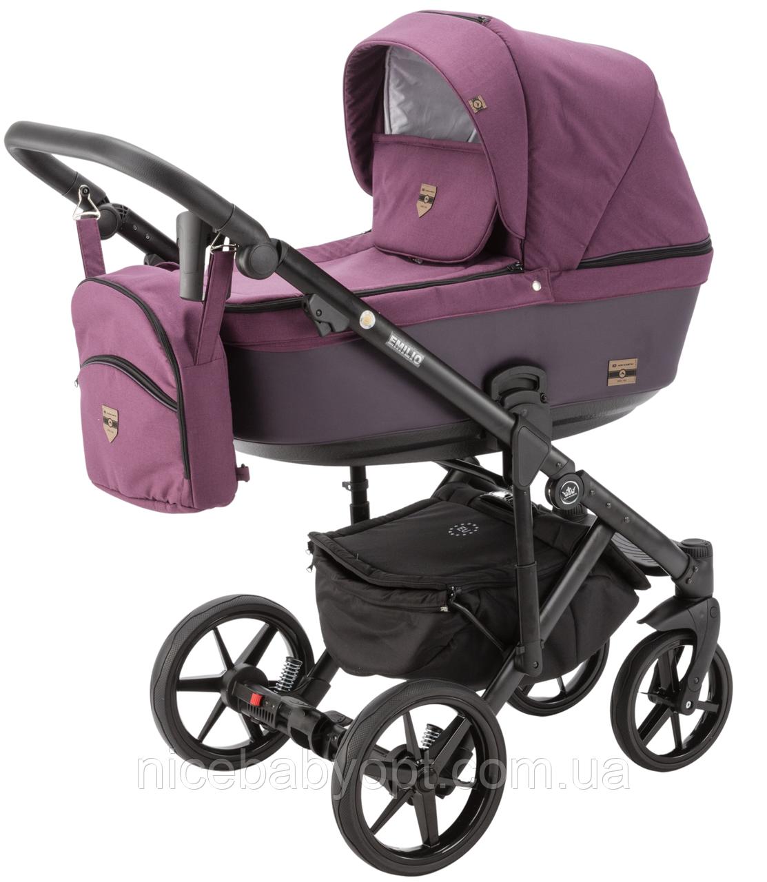 Детская универсальная коляска 2 в 1 Adamex Emilio EM-227