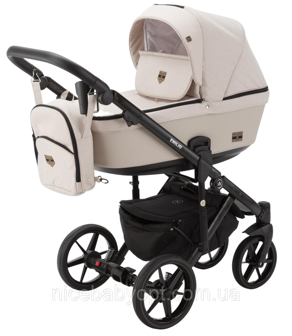 Дитяча універсальна коляска 2 в 1 Adamex Emilio EM-243