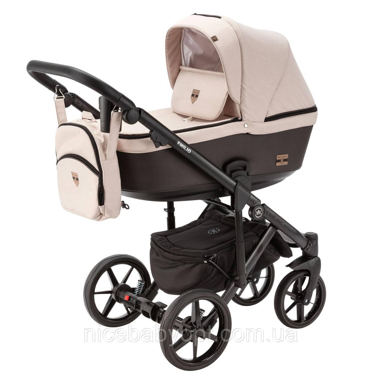 Детская универсальная коляска 2 в 1 Adamex Emilio EM-267