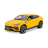 Автомодель LAMBORGHINI URUS жовтий 1:18 Bburago 18-11042Y, фото 1