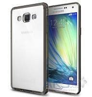 Чехол Ringke Fusion Samsung A700 Galaxy A7 Smoke Black
