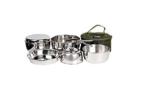 Набір посуду Traper Komplet garnków z czajnikiem