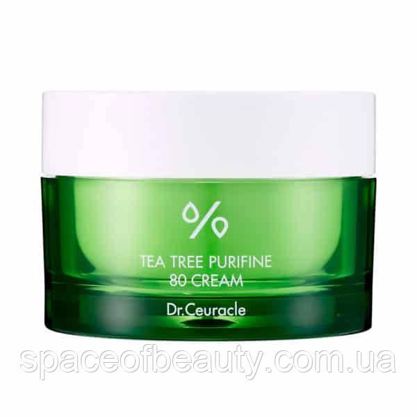 Крем з екстрактом чайного дерева Dr. Ceuracl Tea Tree Purifine 80 Cream  50 г