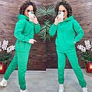 """Стильний теплий спортивний костюм трехнитка на флісі """"Share"""". Класний теплий спортивний костюм для, фото 2"""