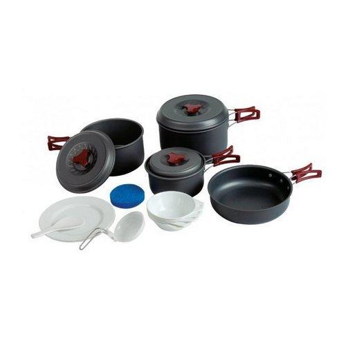 Набір посуду Tramp на 4-5 персон алюміній TRC-026
