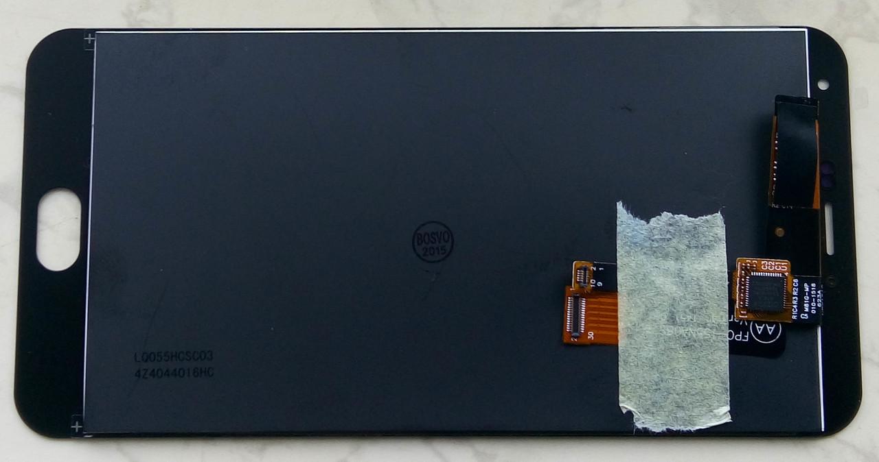 Дисплей модуль Meizu M2 Note в зборі з тачскріном чорний