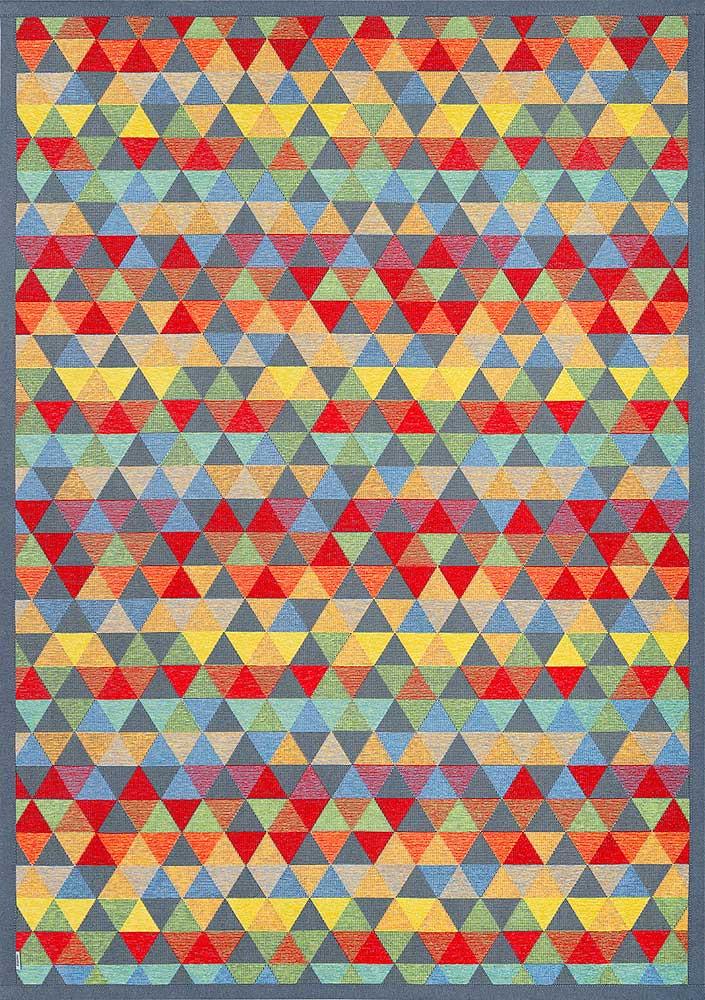 Ковер двухсторонний Narma Luke 70х140 см Разноцветный
