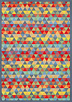 Ковер двухсторонний Narma Luke 70х140 см Разноцветный, фото 1