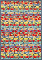 Ковер двухсторонний Narma Luke 80х250 см Разноцветный, фото 1
