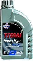 Синтетическое моторное масло Titan(Титан) Supersyn F ECO-B SAE 5W-20 1л.