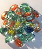 Декоративный стеклянный камень, Долька