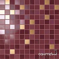 Плитка для ванной Supergres Плитка Supergres Ceramiche Petali Mosaico Ibisco Oro