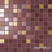 Плитка для ванной Supergres Плитка Supergres Ceramiche Petali Mosaico Tulipano Oro