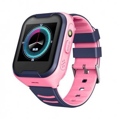 Дитячі Розумні Смарт Годинник c GPS Baby Smart Watch A36E Original З 4G і Видеозвонком Синьо-Рожеві