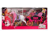 Карета с лошадью, куклой и аксессуарами ZA0779