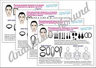 Украшения и вырезы по форме лица. Инструменты стилиста