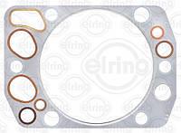 Прокладка головки блока цилиндра MAN TGA, E 2000, EL, F 2000, F 90) (пр-во Elring), 752.037